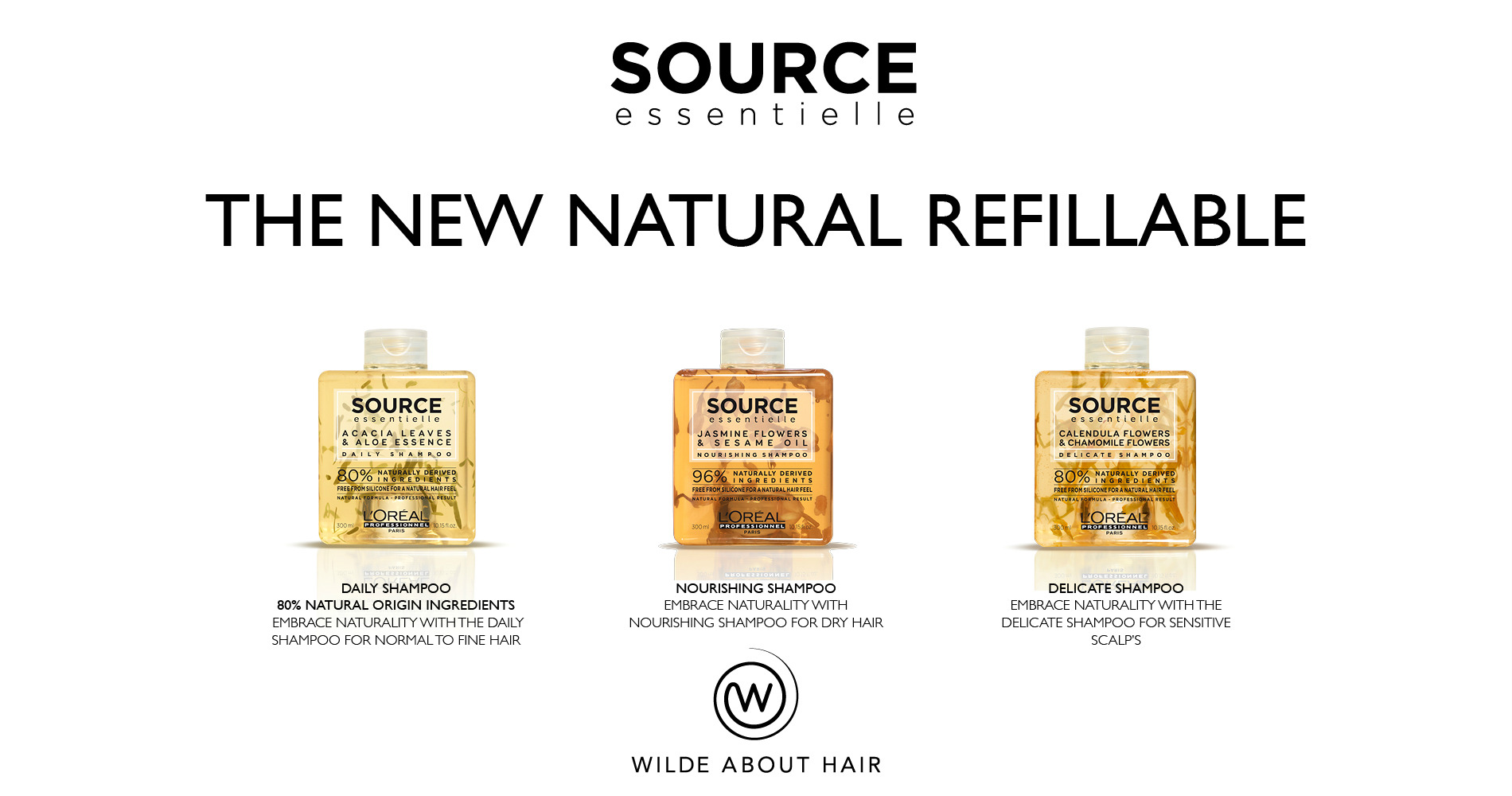 Source Essentielle - the new natural refillable