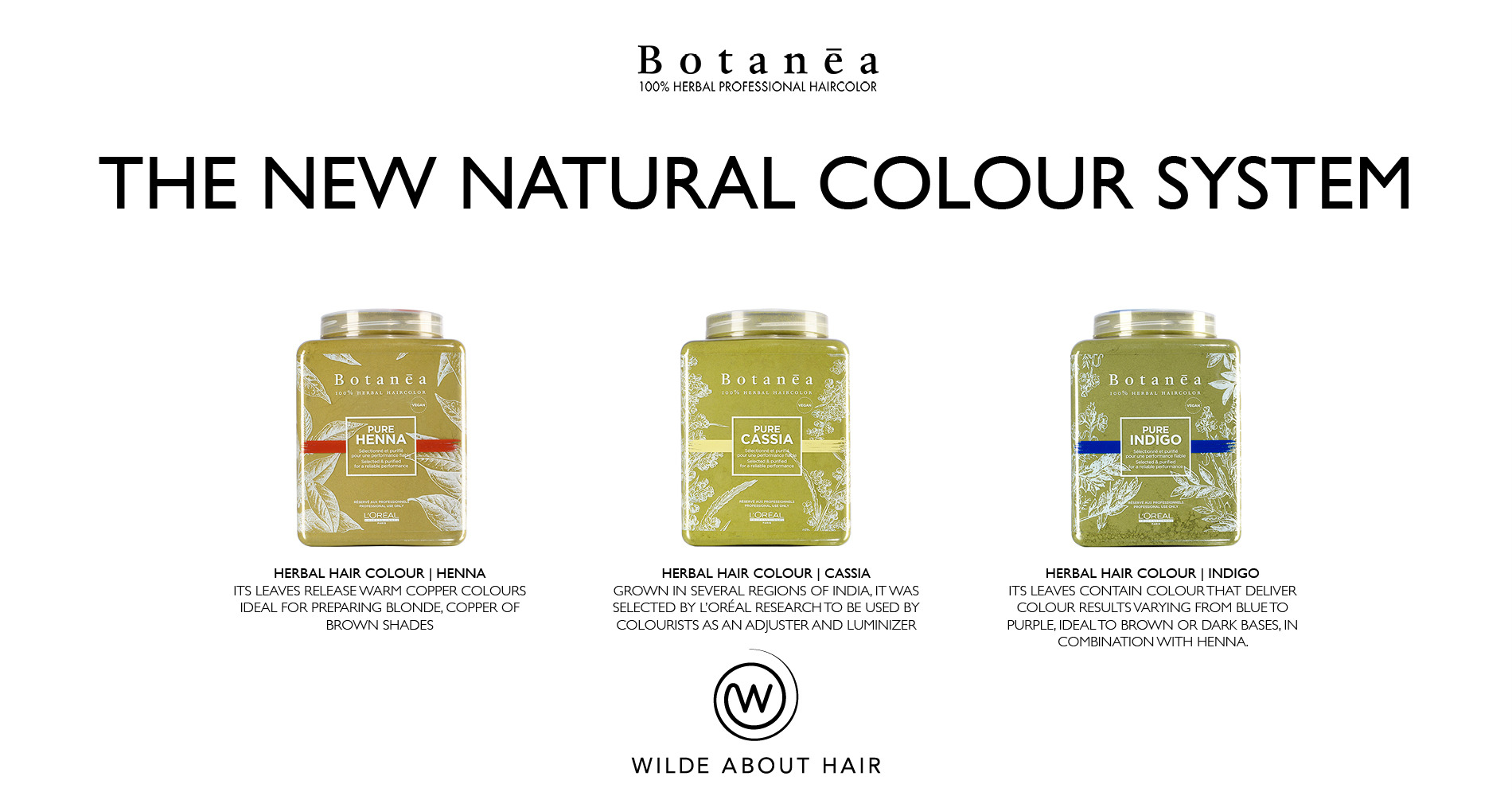 Botanea - The new natural colour system